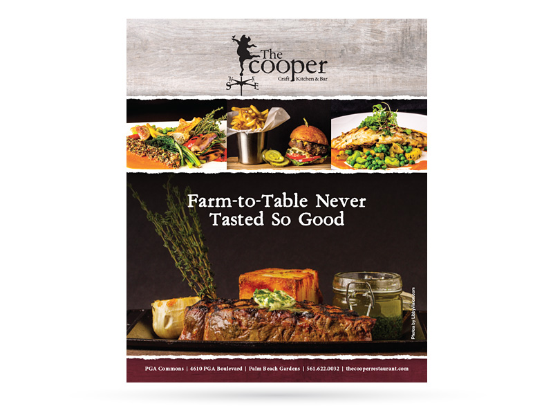 The Cooper Kraft Kitchen & Bar advertisement image