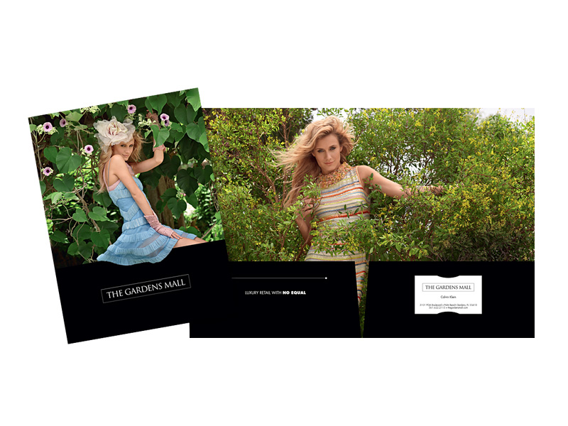 The Gardens Mall pocket folder image
