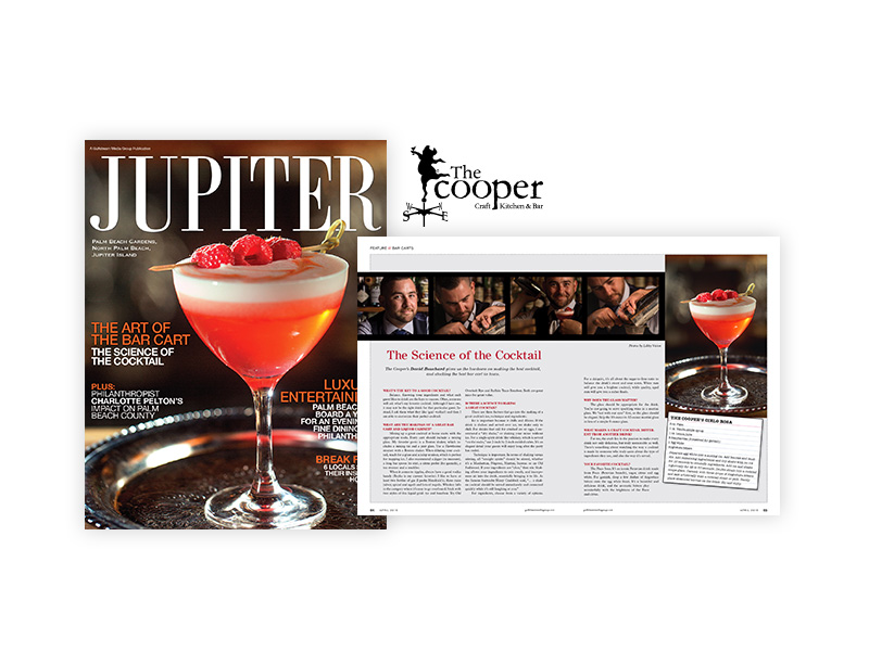 The Cooper Kraft Kitchen & Bar magazine ad image