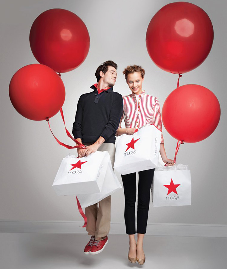 Macys Red balloon promo image