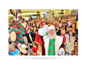 Santa's Arrival at The Gardens Mall image