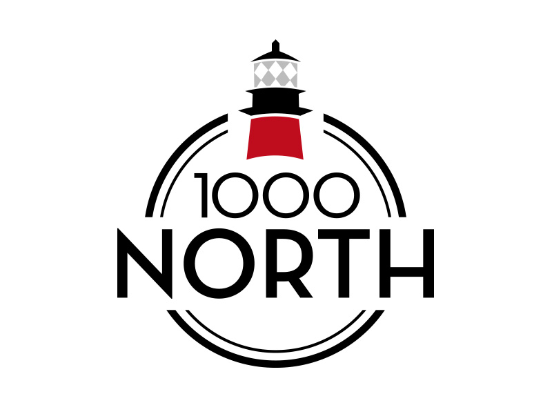 1000 North logo