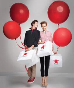 Macys Red balloon promo image